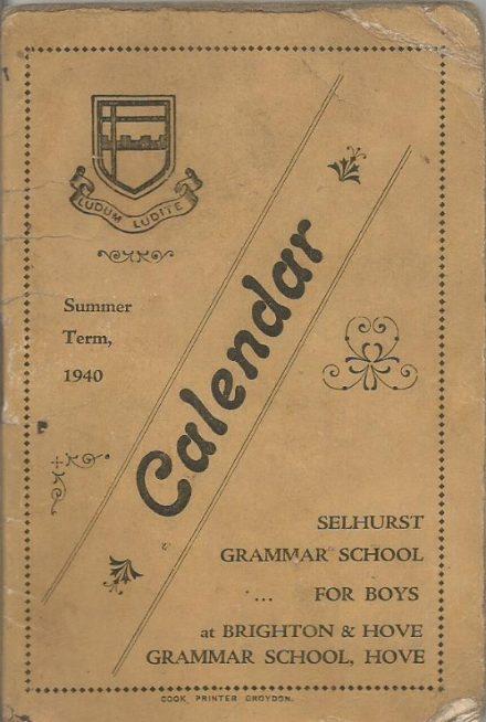 calendar summer 1940