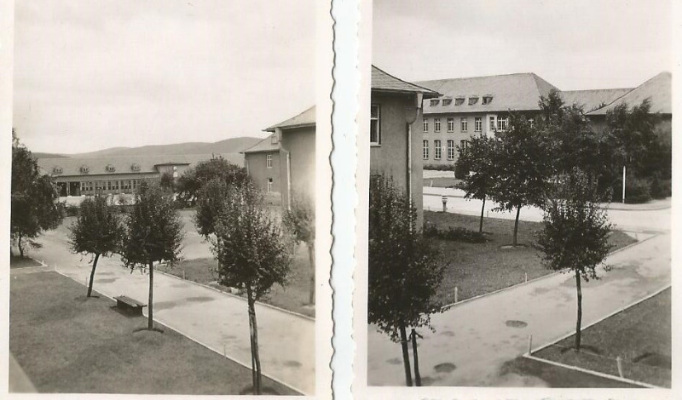 views left and right from geoffs room iserlohn barracks 19480003