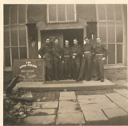 1st btn royal fusileers education corps iserlohn april 19480002