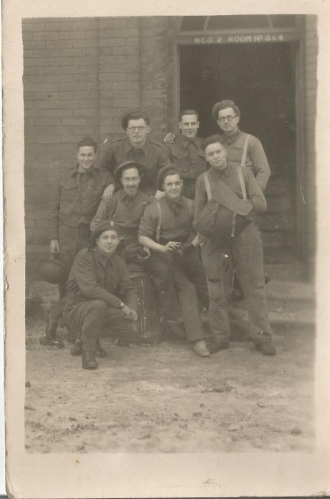 1st bn royal fusileers ncos january 1947