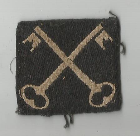 geoffrey huttons baor 5th infantry brigade badge baor iserloh0002