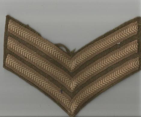 geoffrey huttons sergeants stripes baor 1947