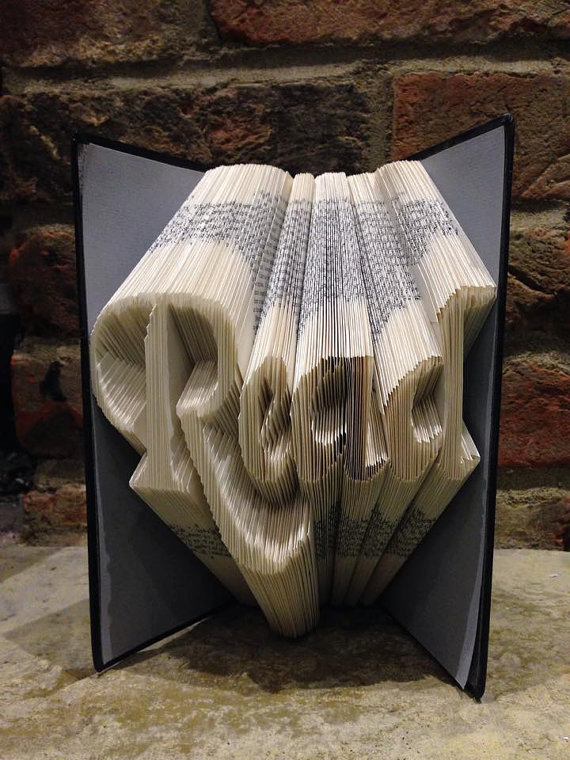 Book Folding Pattern 'Read' (288 Folds) PDF