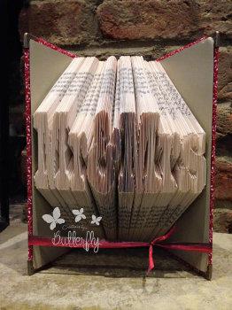 Book Folding Pattern 'Mr & Mrs' (322 Folds)