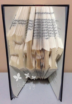 Book Folding Pattern 'Star' (199 Folds)