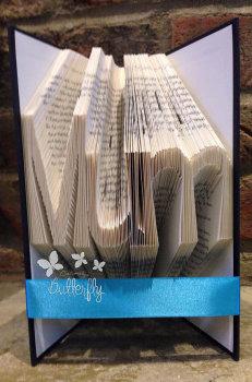 Book Folding Pattern 'Mum' (168 Folds)