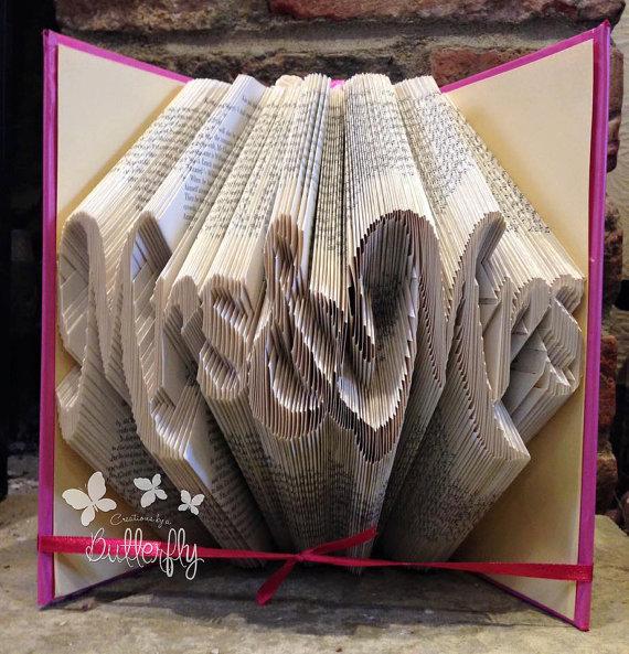 Book Folding Pattern 'Mrs & Mrs' (452 Folds)