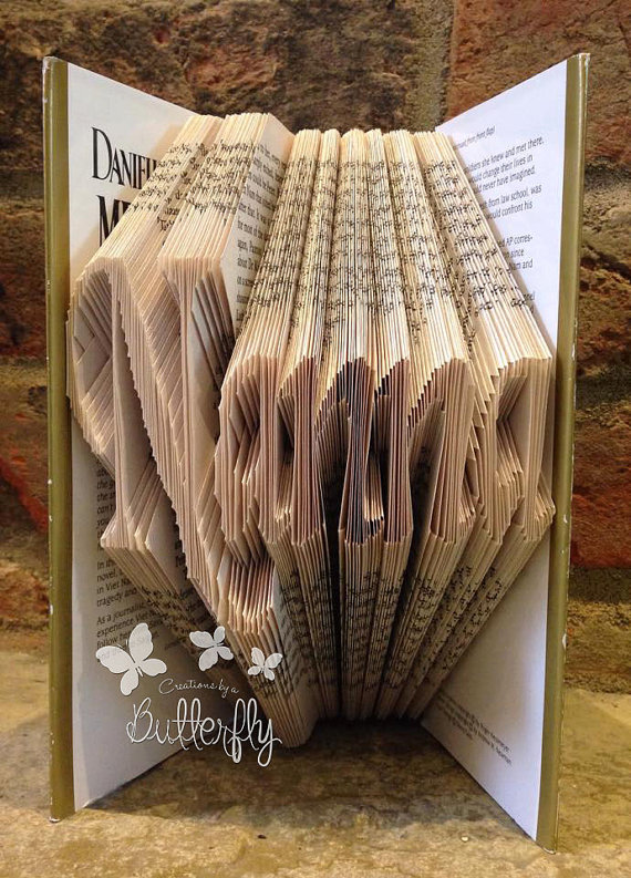 Book Folding Pattern 'Nanna' (238 Folds)