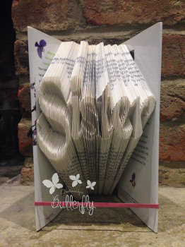 Book Folding Pattern 'Sister' (226 Folds)