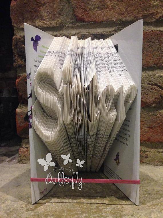 Book Folding Pattern 'Sister' (226 Folds)