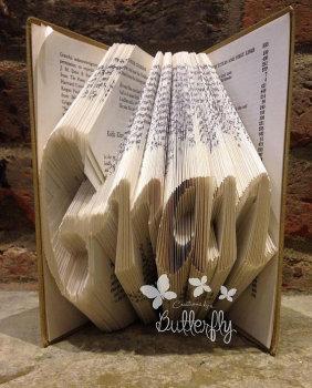 Book Folding Pattern 'Gran' (284 Folds)