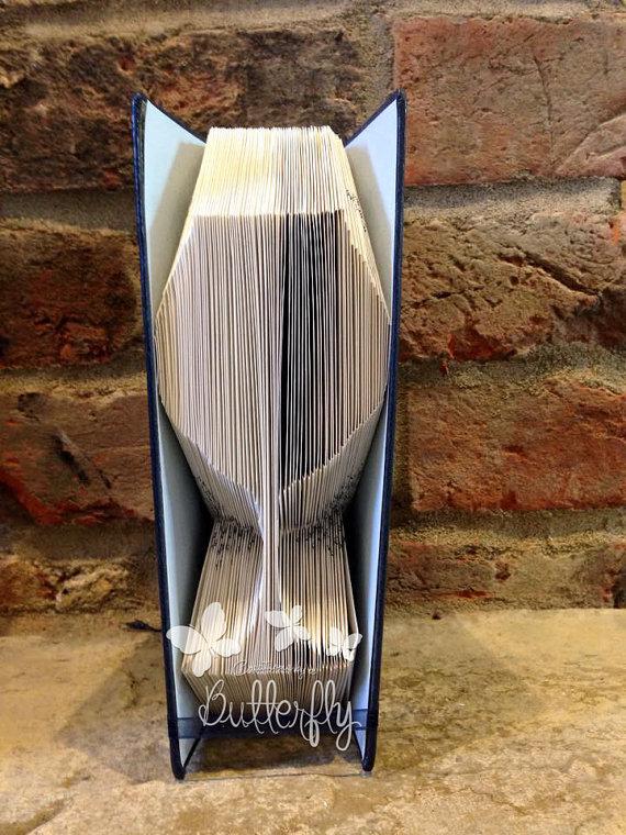 Book Folding Pattern 'Wine Glass' (129 Folds)