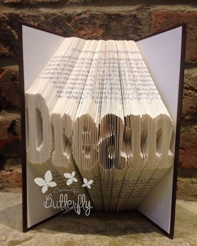 Book Folding Pattern 'Dream' (211 Folds)