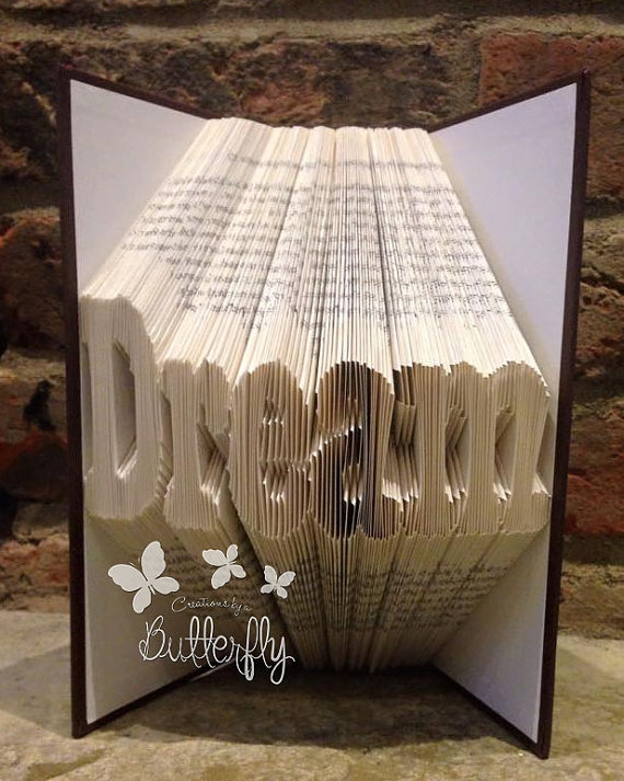 Book Folding Pattern 'Dream' (211 Folds)