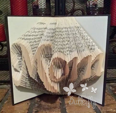 Book Folding Pattern 'Mom' (291 Folds)