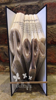 Book Folding Pattern 'Pops' (178 Folds)