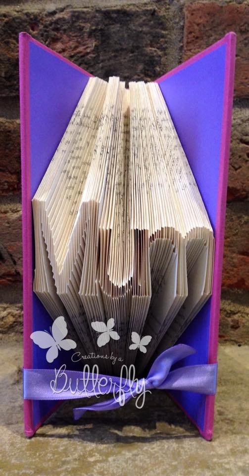 Book Folding Pattern 'Small Mum' (95 Folds)