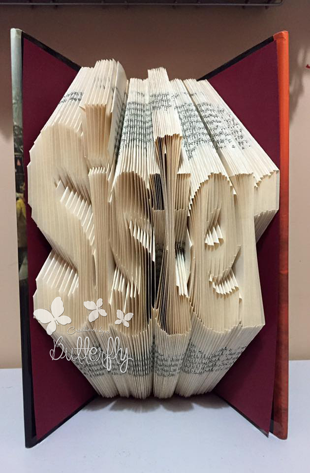 Book Folding Pattern 'Sister' (186 Folds)