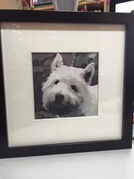 Westie Dog - 8 Layer Cut **Print Yourself**