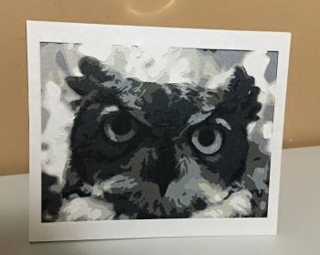 Owl - 8 Layer Cut