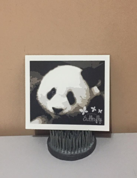 Panda - 6 Layer Cut