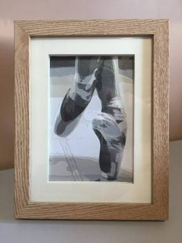 Ballet Shoes 5x7 inch