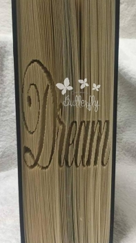 Book Folding Pattern - 'Dream' (200 Pages)