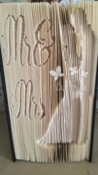 Book Folding Pattern - 'Mr & Mrs' - (396 Pages)
