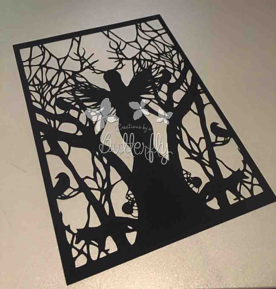 Forrest Fairy Paper Cut