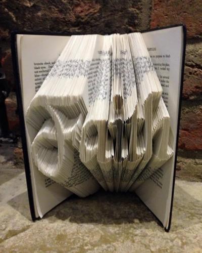 Book Folding Pattern 'Faith' (288 Folds)