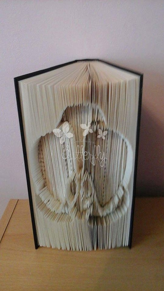 Book Folding Pattern - 'Orchid' (304 Pages)