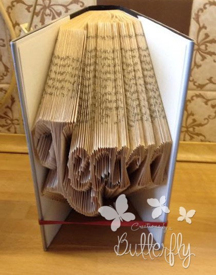 Book Folding Pattern 'Learn' (216 Folds)