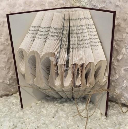 Book Folding Pattern 'Mum' Ft 16-1 (277 Folds)