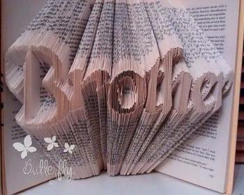 Book Folding Pattern 'Brother' (388 Folds)
