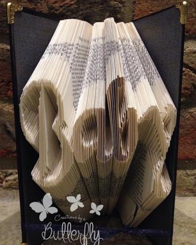 Book Folding Pattern 'Baby' (226 Folds)