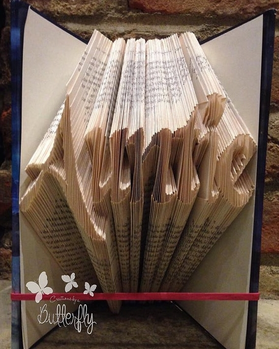 Book Folding Pattern 'Auntie' (309 Folds)