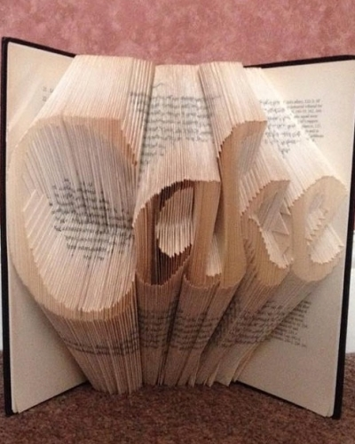 Book Folding Pattern 'Cake' (306 Folds)