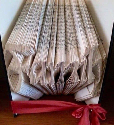 Book Folding Pattern 'Family' (378 Folds)