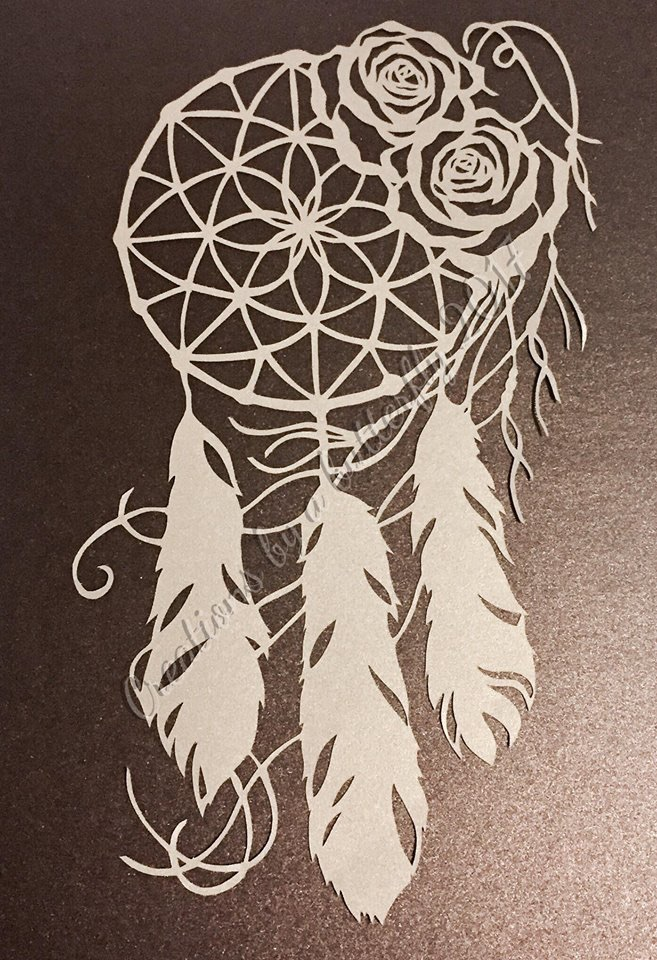 Dream Catcher Paper Cut