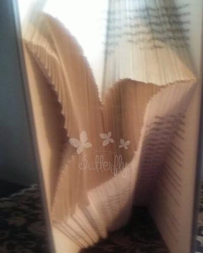 Book Folding Pattern 'Hummingbird' (199 Folds)