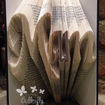 Book Folding Pattern 'Mam' (241 Folds)