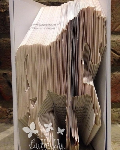 Book Folding Pattern 'Horse' (216 Folds)