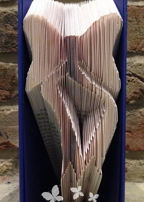 Book Folding Pattern 'Bow' (182 Folds for pair)