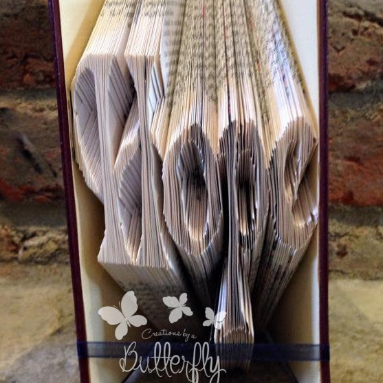 Book Folding Pattern 'Hope' (254 Folds)