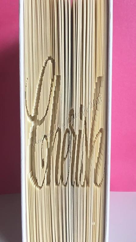Book Folding Pattern - 'Cherish' (162 Pages)