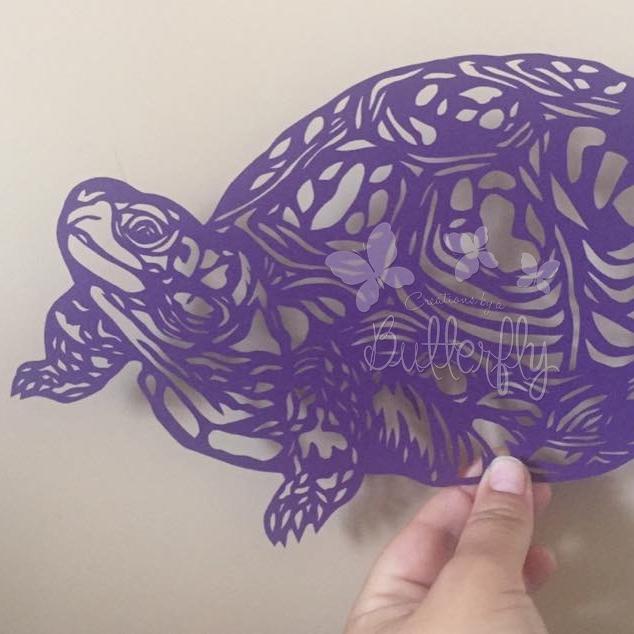Tortoise Paper Cut