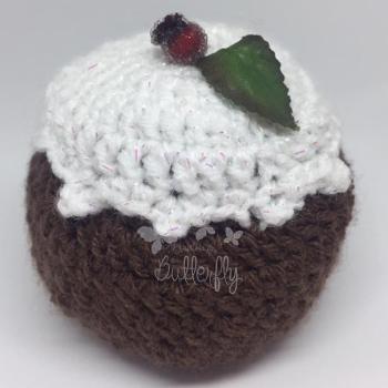 Sparkle Christmas Pudding - Chocolate Orange size Cover