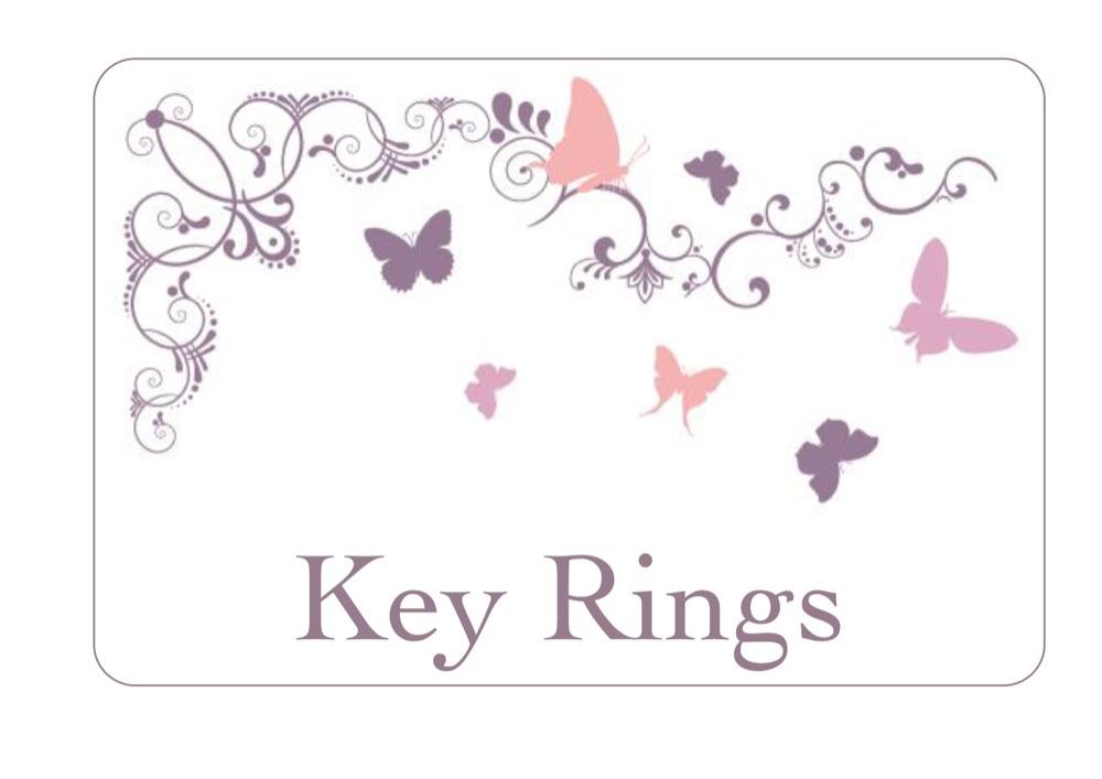 Key Rings & Bag Charms