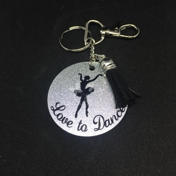 Love to Dance Bag Charm