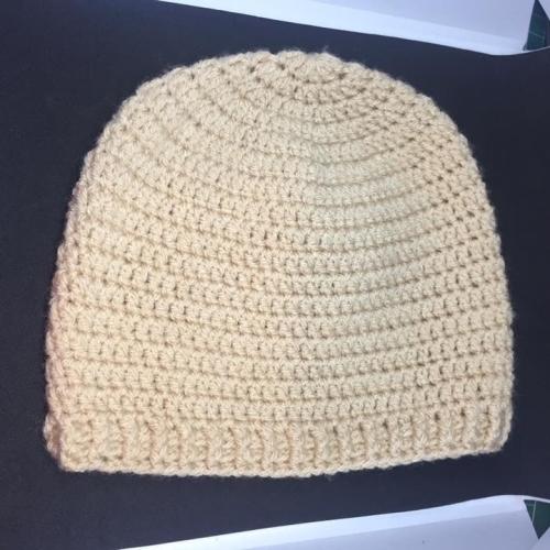 Beige Beanie Hat *6-9 Months*